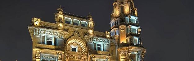 قصر البارون تحفة معمارية