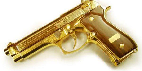 اشياء غريبة من الذهب الخالص