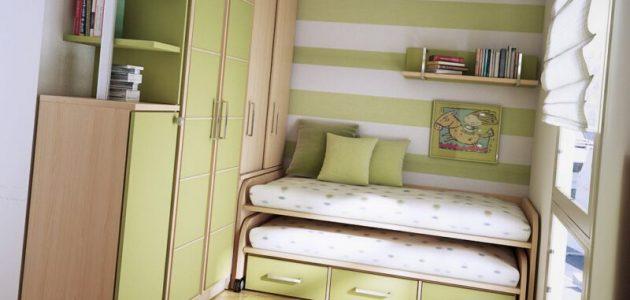 افكار غرف نوم صغيرة الحجم