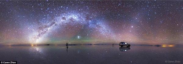 من اجمل الصور التي تم التقاطها للسماء في الليل