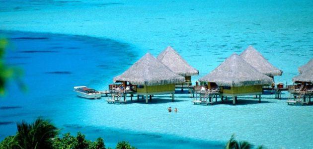 من اجمل جزر المحيط جزيرة بورا بورا
