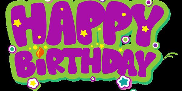 سكرابز لكلمة happy birthday