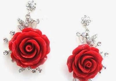 حلقان بنكهة الورد
