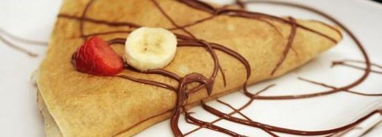 طريقة عمل الكريب الحلو بالشوكولاته