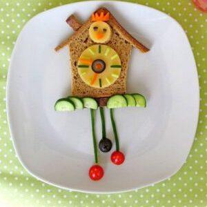 ابداعات فنية جميلة لطبق الطعام