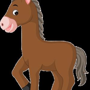سكرابز حصان كرتون