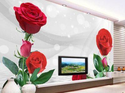 الورد البلدى لديكورات الحوائط