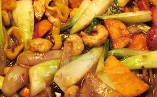 صينية الجمبري بالبطاطس
