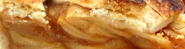 طريقة عمل فطيرة التفاح الساخنة