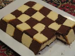 طريقة عمل كيك الشطرنج