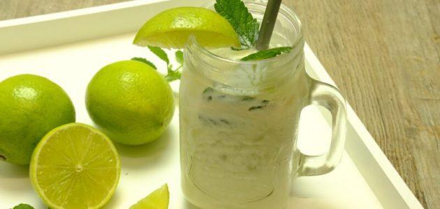 الزبادي والليمون للتخلص من دهون البطن