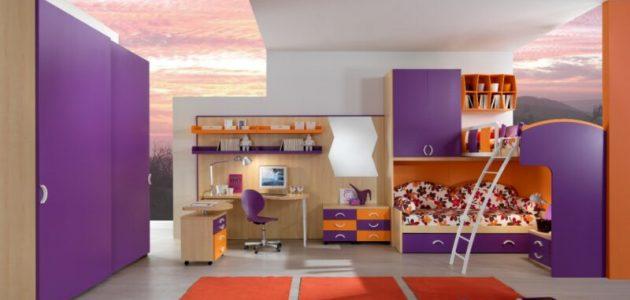 تصاميم غرف أطفال حديثة