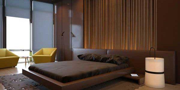 غرف نوم غارقة في الشوكولاتة