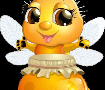 سكرابز نحلة كرتون